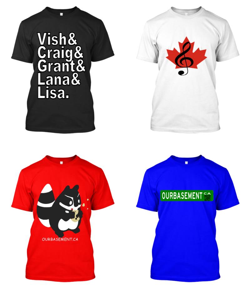 4 t-shirt designs