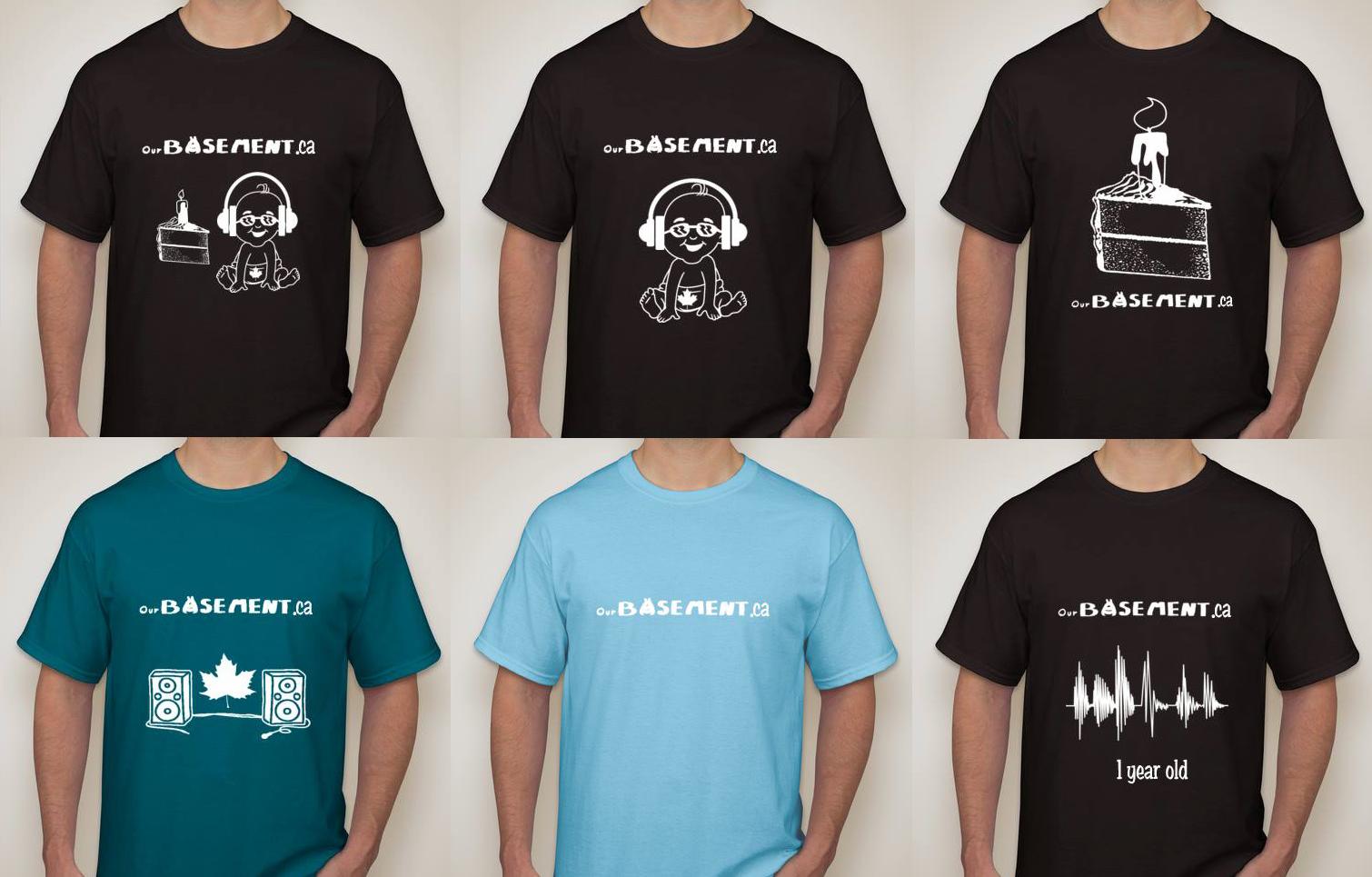 First anniversary t shirt poll ourbasement