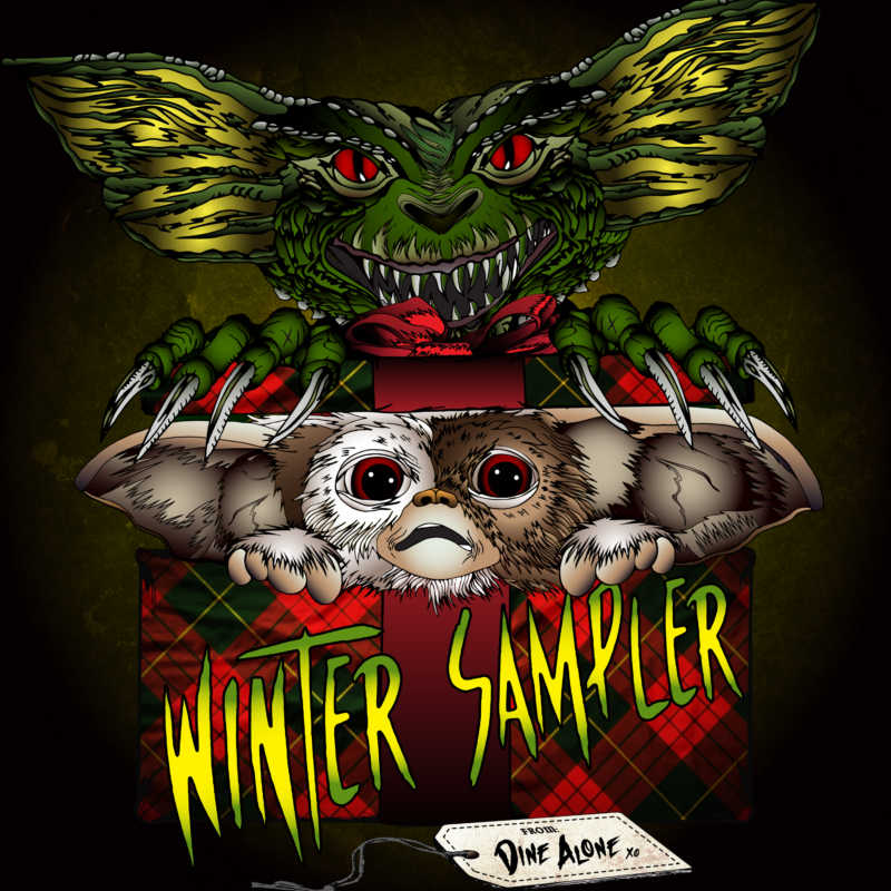 Dine Alone Records Winter Sampler - cover