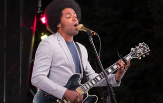 Alex Cuba performing at the Burlington Sound of Music Festival